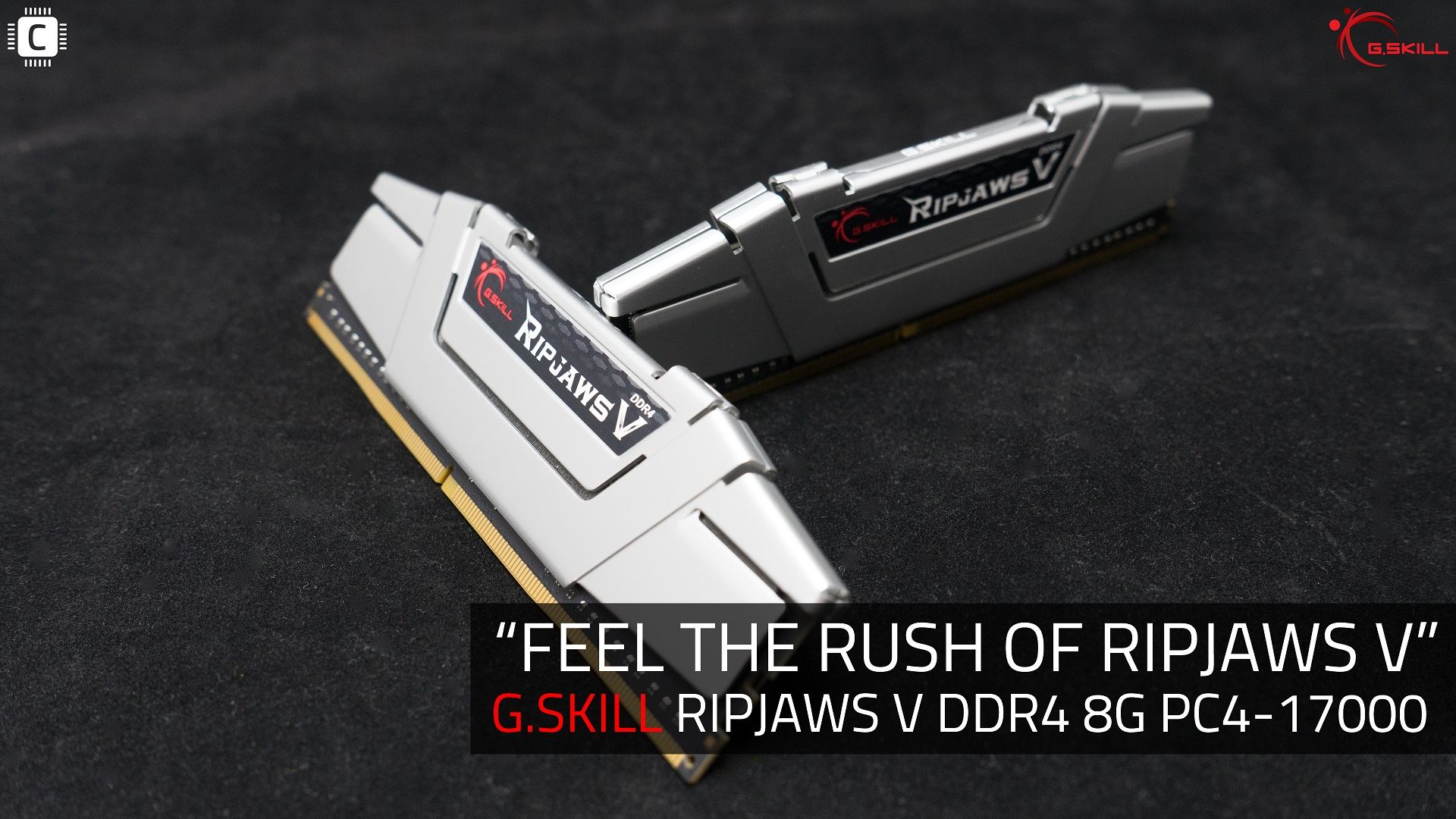 G.SKILL RIPJAWS V DDR4 8G PC4-17000 실버