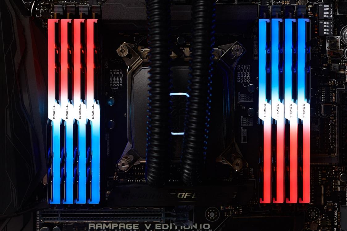 (주)서린씨앤아이 하이엔드 CPU 플랫폼용 지스킬 트라이던트Z RGB 128GB시리즈 출시
