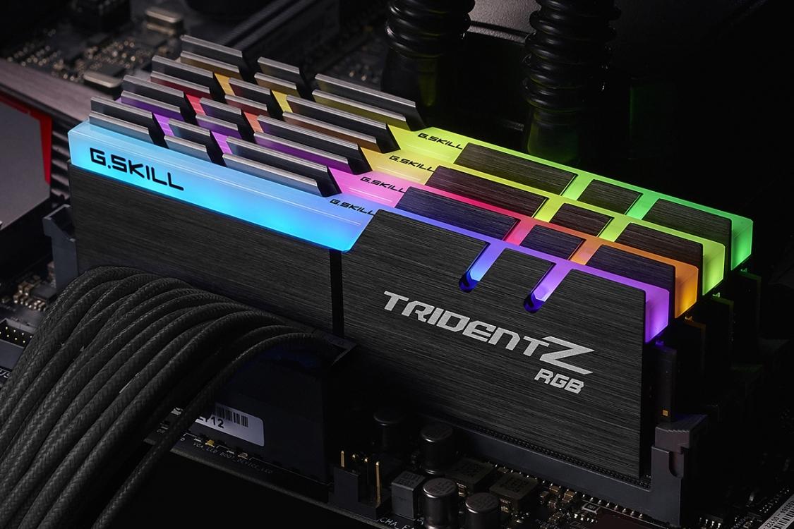 (주)서린씨앤아이 지스킬 트라이던트Z RGB 마더보드 3사 RGB 소프트웨어 연동 제공