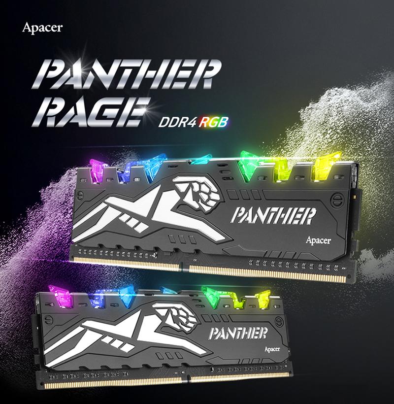 ㈜서린씨앤아이, 어페이서 팬서 레이지 RGB PC-24000 메모리 추가 출시