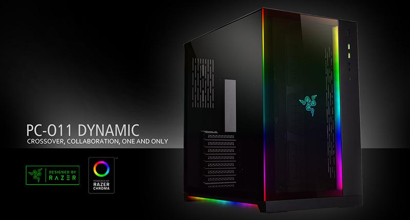 서린씨앤아이, 레이저와 개발 협력한 리안리 PC-O11 다이나믹 레이저 에디션 출시
