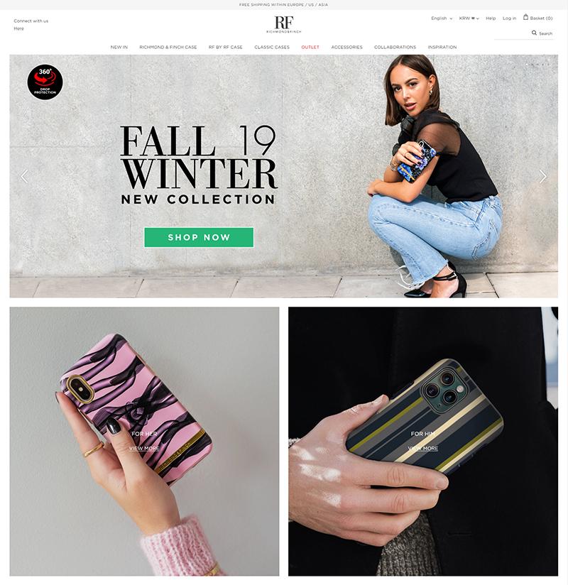 서린씨앤아이, 패션 트렌드 접목한 모바일 액세서리 관련 브랜드 리치몬드앤핀치와 공급 계약 체결