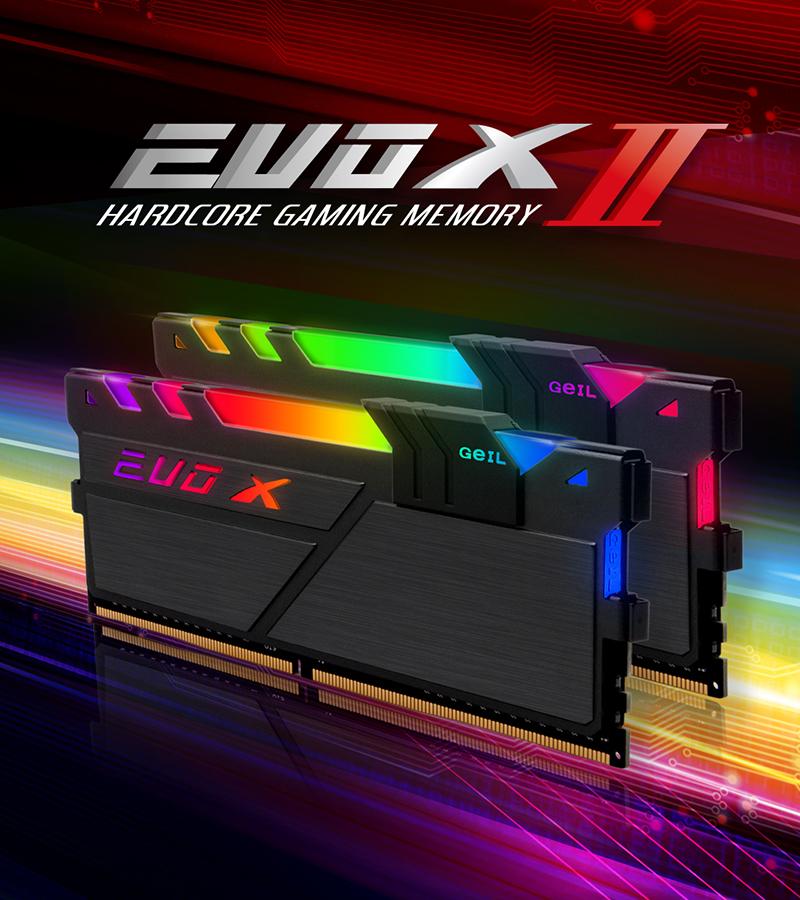 서린씨앤아이, 게일 고성능 메모리 에보 X2 32GB 고용량 라인업 추가 출시