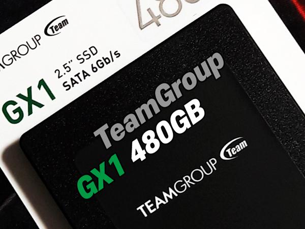 팀그룹이 제시하는 가성비 SSD 시리즈 등장 [TeamGroup GX1 (480GB)]