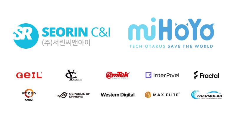서린씨앤아이, 지스타 2019 붕괴 3rd의 미호요 부스에 시연용 PC 지원 참여