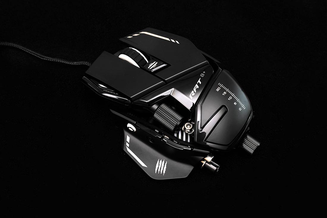 디자인과 커스텀 마이징에 특화된 게이밍 마우스! MadCatz R.A.T 8 PLUS 리뷰