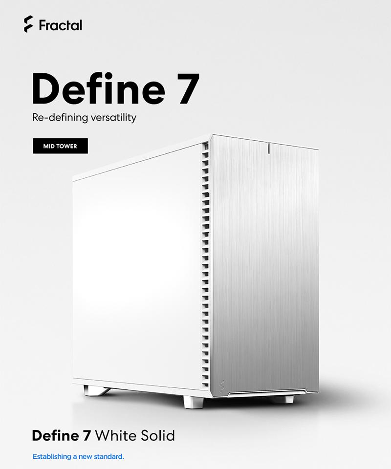 서린씨앤아이, 프렉탈디자인 신제품 PC케이스 디파인 7 시리즈 출시