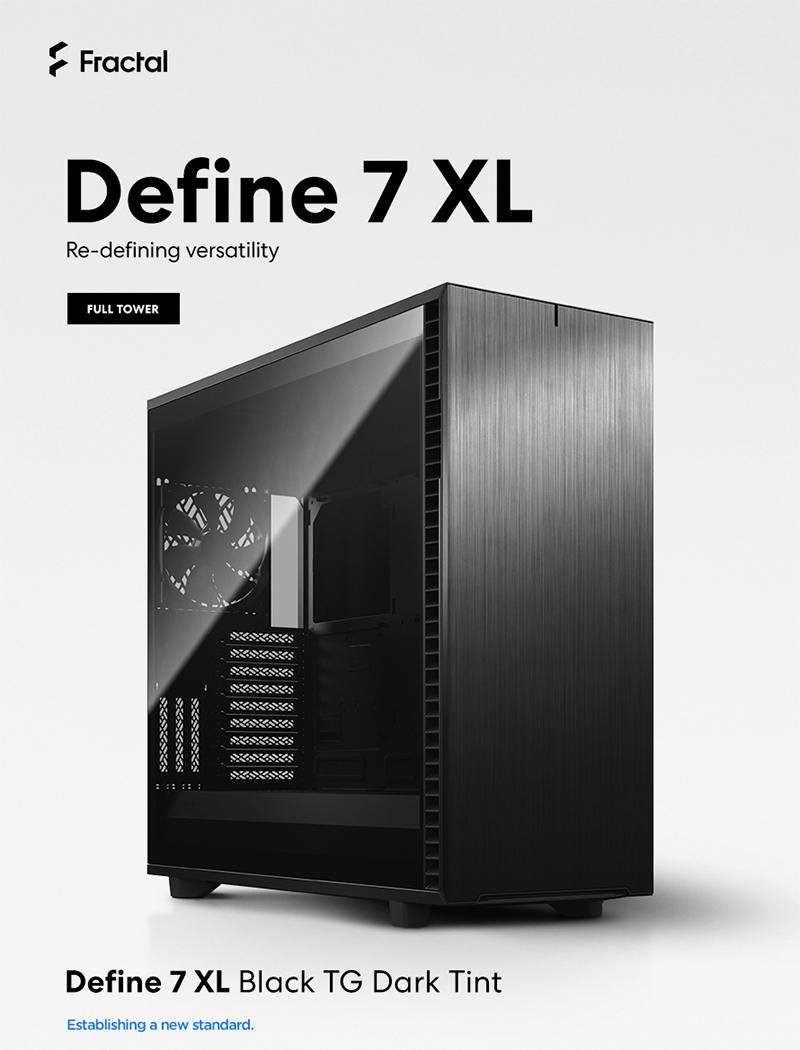 서린씨앤아이, 프렉탈디자인 빅타워 규격 신규 PC케이스 디파인 7 XL 시리즈 출시
