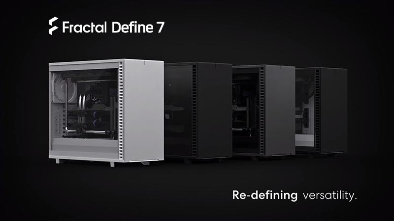 서린씨앤아이, 프렉탈디자인 디파인 7 시리즈 강화유리 모델 추가 출시