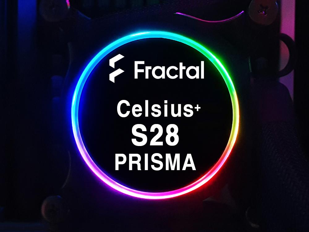 프렉탈 디자인 Celsius+ S28 Prisma 수랭 쿨러 사용기