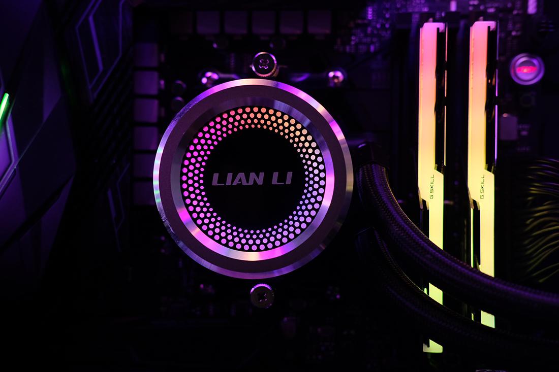 냉각 효율 상위권! 리안리 갈라하드(LIAN LI GALAHAD) AIO 360 ARGB CPU 쿨러 리뷰