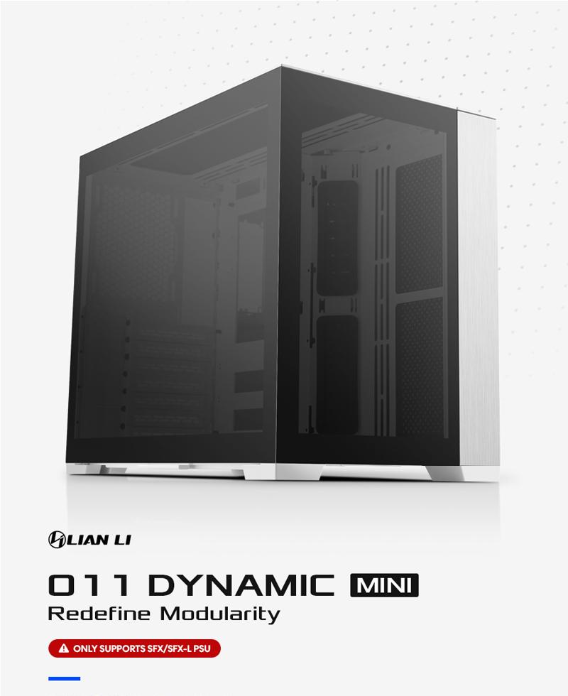 서린씨앤아이, 스몰 폼팩터 기반 리안리 PC-O11 다이나믹 미니 정식 출시