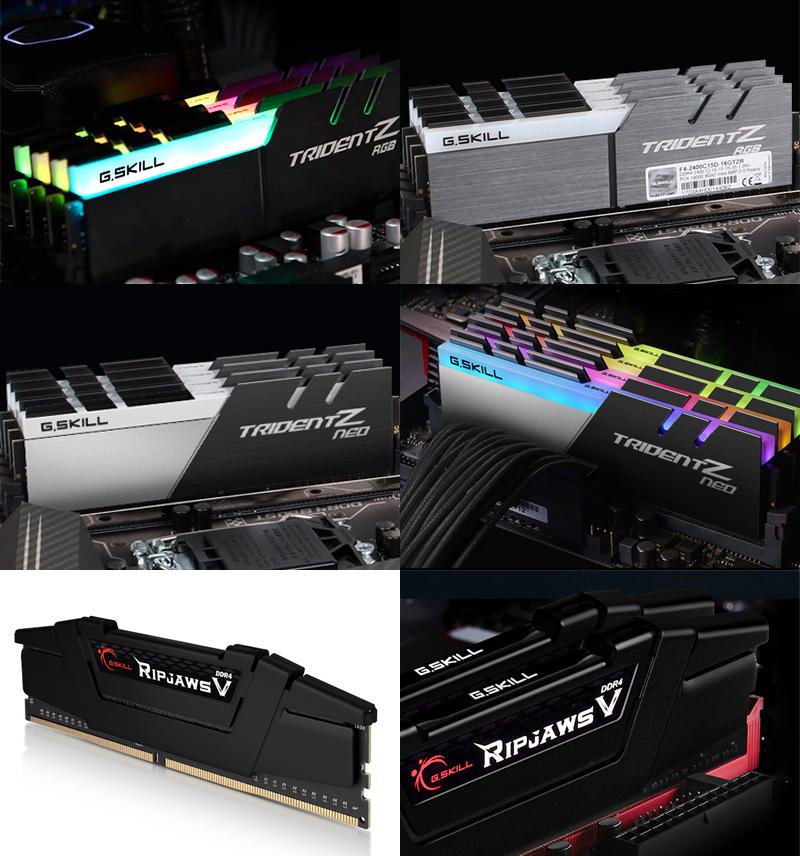 서린씨앤아이, 지스킬 대표 고성능 메모리 라인업에 3개 제품 추가 출시