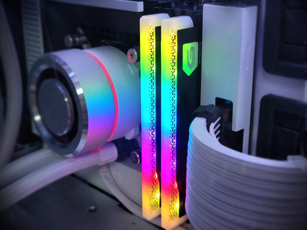 이번엔 RGB! GeIL ORION RGB 3200Mhz Gray 게이밍 램 리뷰