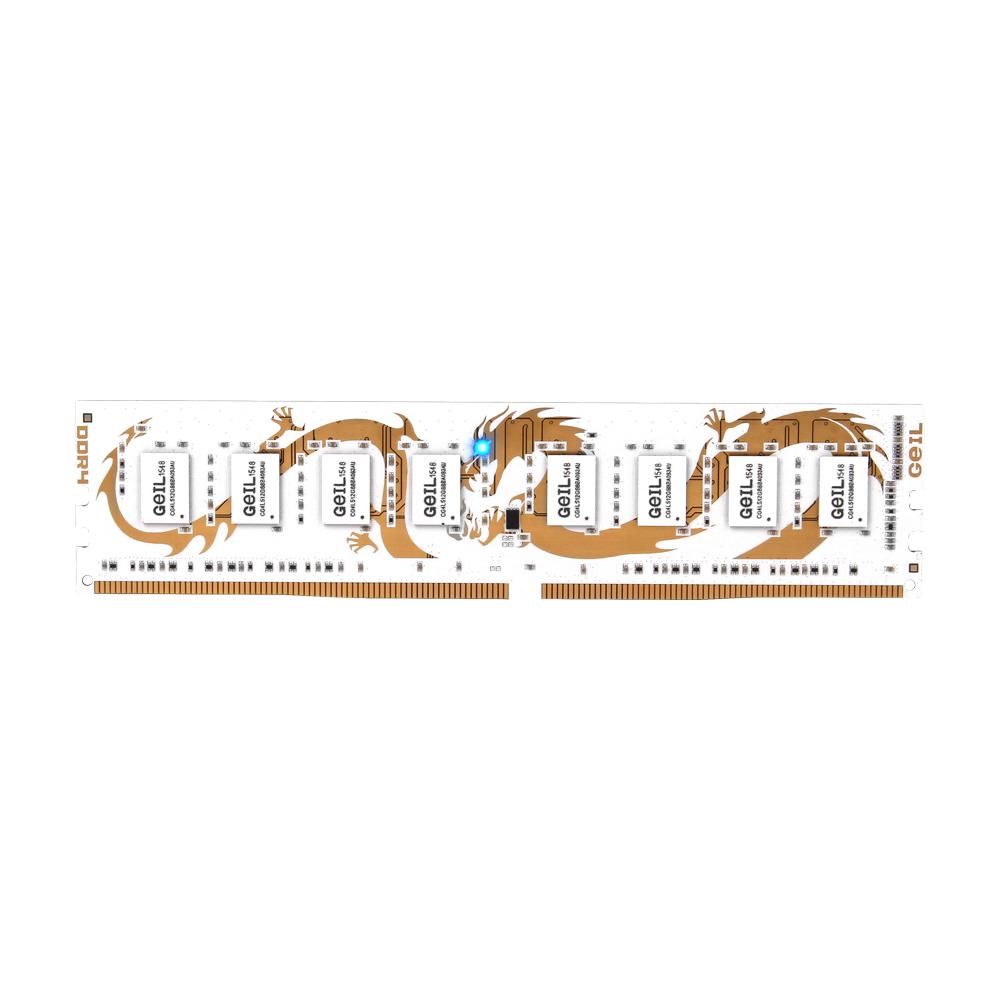 GeIL DDR4 8G PC4-25600 CL15 DRAGON WHITE (4Gx2)