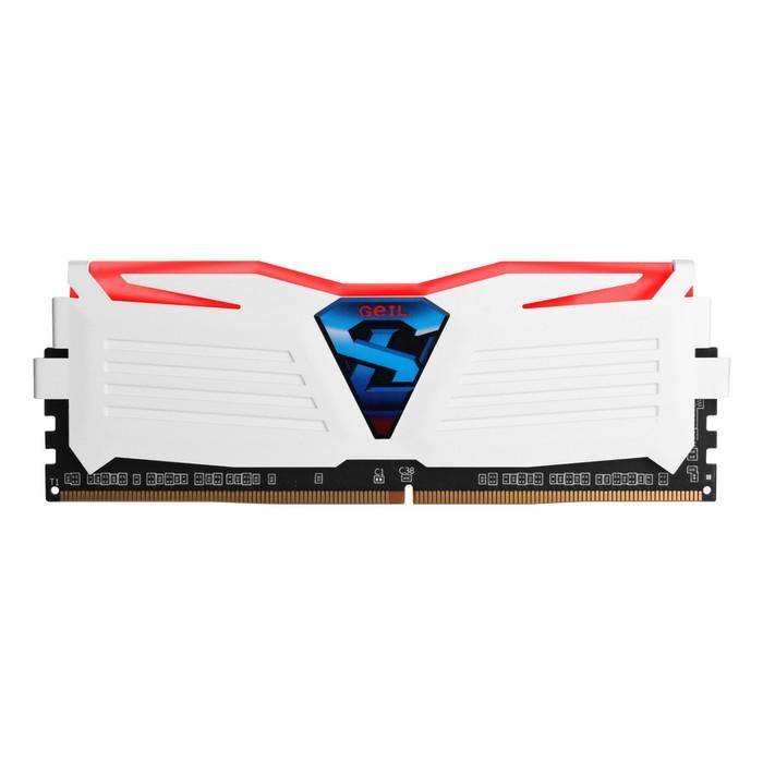 GeIL DDR4 4G PC4-17000 CL15 SUPER LUCE WHITE 레드 (4Gx1)