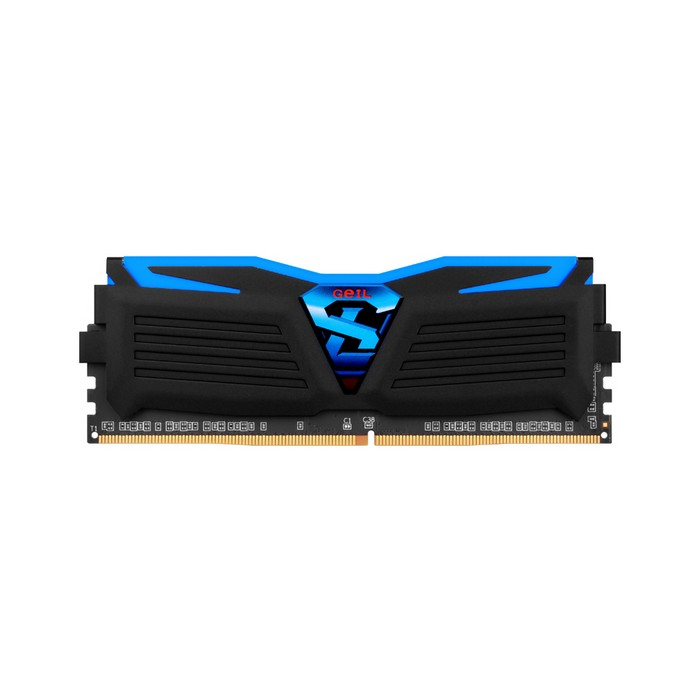 GeIL DDR4 4G PC4-17000 CL15 SUPER LUCE BLACK 블루 (4Gx1)