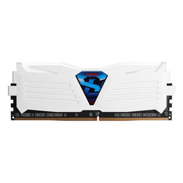 GeIL DDR4 8G PC4-17000 CL15 SUPER LUCE WHITE (8GBx1)