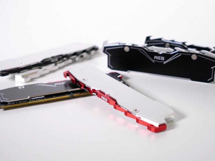 MEG BLADE T3 RAM HEATSINK 메모리 방열판 언박싱 / 티저 영상