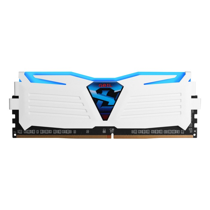 GeIL DDR4 16G PC4-17000 CL15 SUPER LUCE WHITE 블루 (16Gx1)