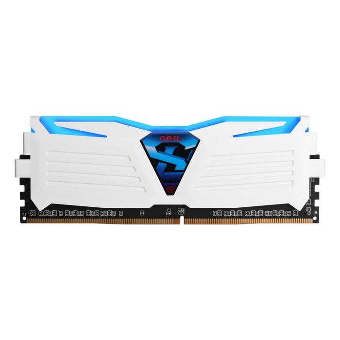 GeIL DDR4 8G PC4-24000 CL16 SUPER LUCE WHITE 블루 (4Gx2)