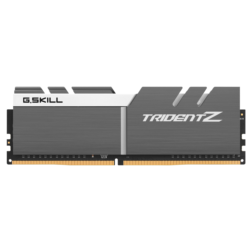 G.SKILL DDR4 16G PC4-32000 CL19 TRIDENT ZSW (8G X 2)
