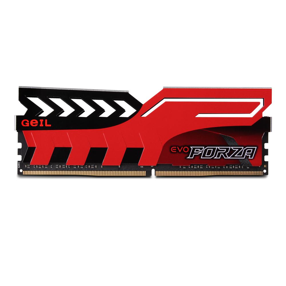 GeIL DDR4 16G PC4-17000 CL15 EVO FORZA 레드 (16Gx1)