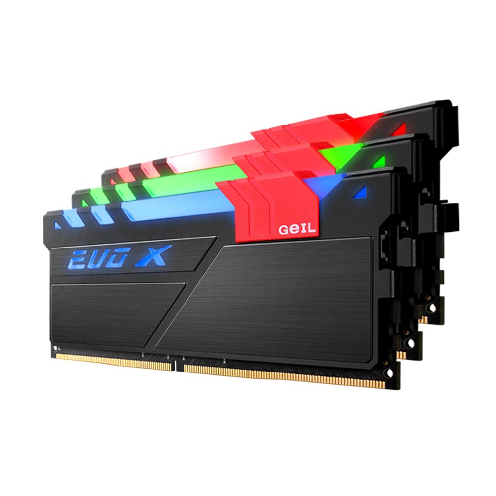 GeIL DDR4 8G PC4-19200 CL16 EVO-X RGB (8Gx1)