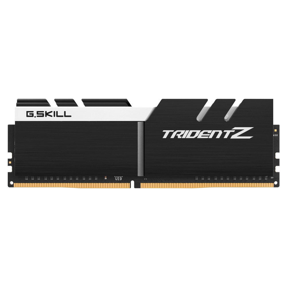 G.SKILL DDR4 16G PC4-32000 CL19 TRIDENT ZKW (8G X 2)
