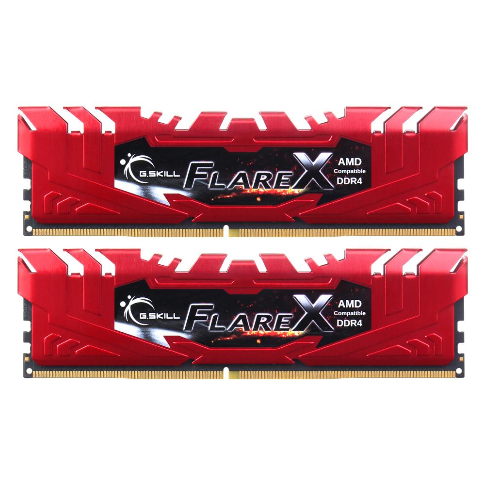 G.SKILL DDR4 16G PC4-19200 CL16 FLARE X DUAL (8Gx2)