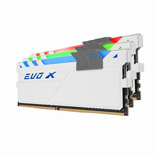 GeIL DDR4 8G PC4-19200 CL16 EVO-X WHITE RYZEN RGB (4Gx2)