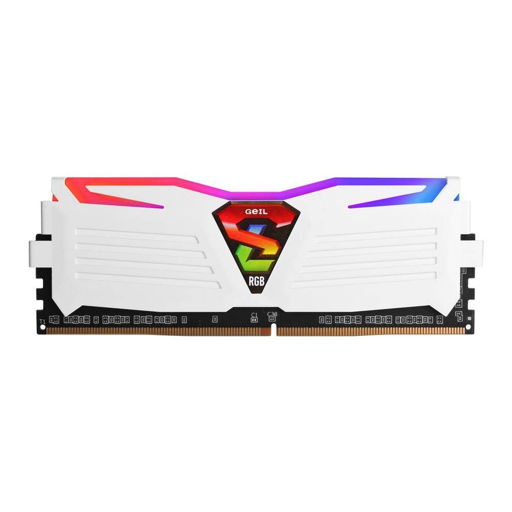 GeIL DDR4 8G PC4-19200 CL17 SUPER LUCE RGB Lite 화이트