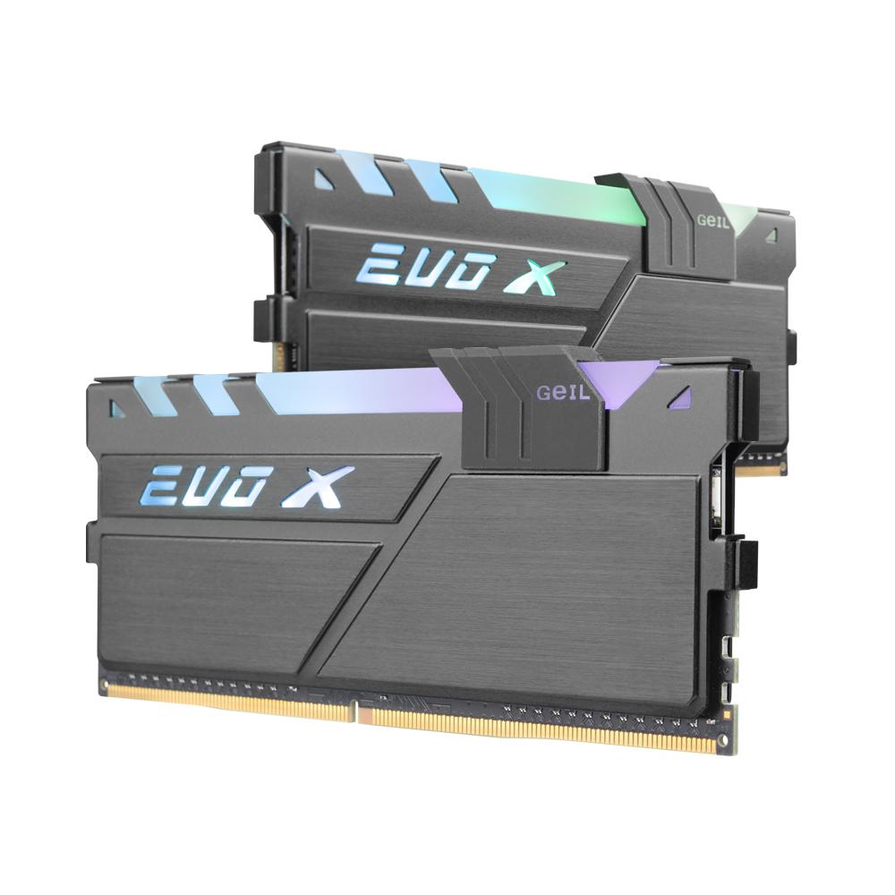 GeIL DDR4 16G PC4-25600 CL16 EVO-X 블랙 RGB (8Gx2)
