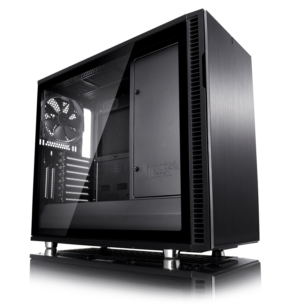 Fractal Design Define R6 Blackout 강화유리