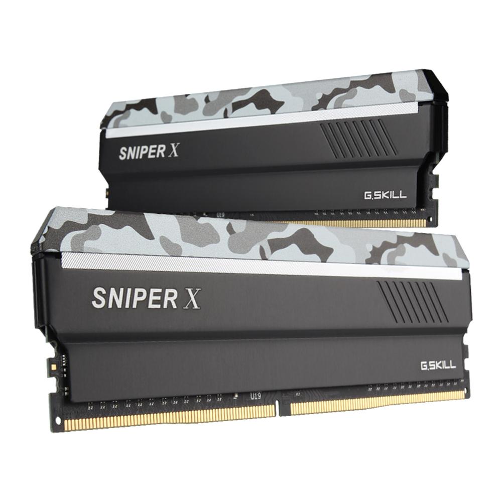 G.SKILL DDR4 32G PC4-28800 CL19 SNIPER X SXW (16Gx2)
