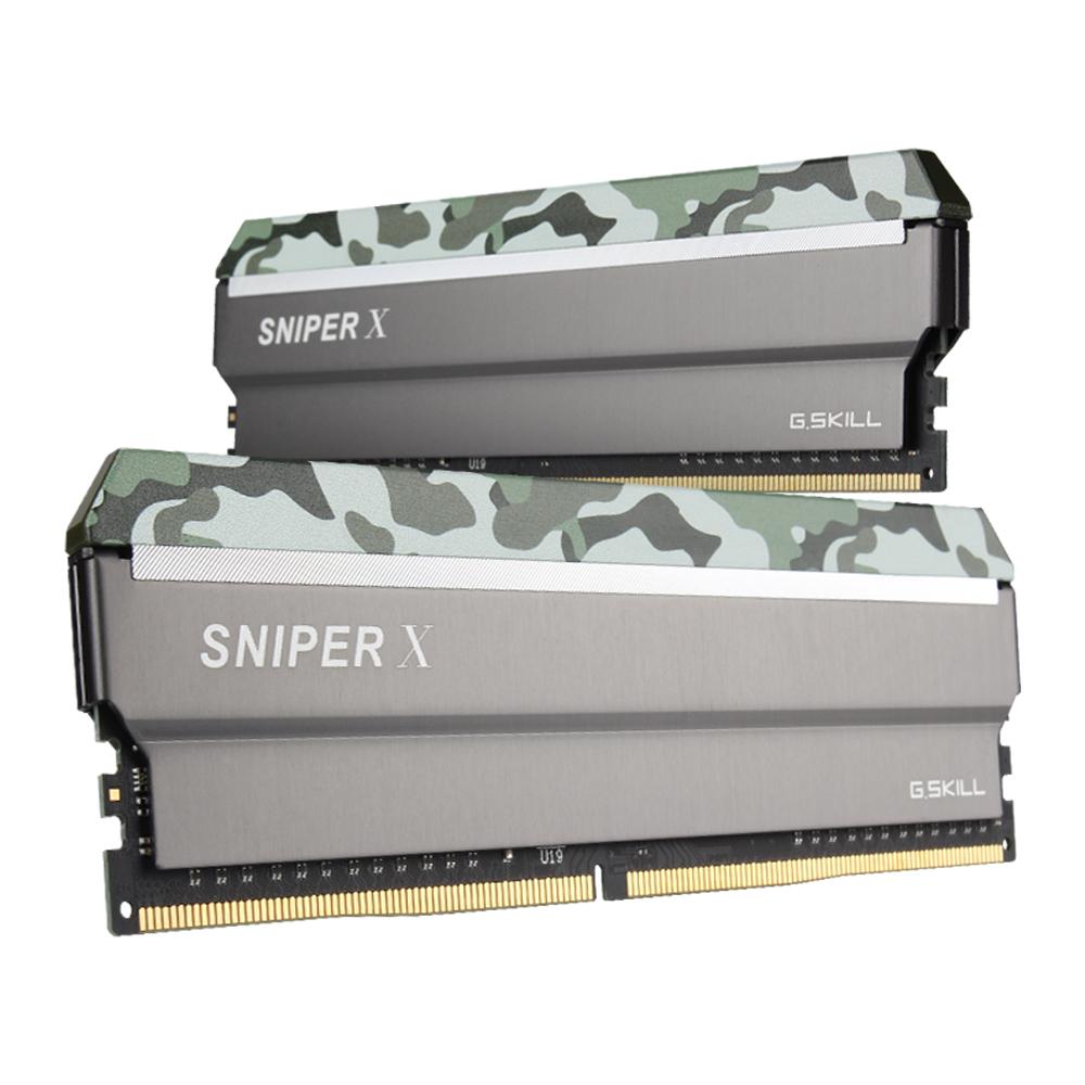 G.SKILL DDR4 32G PC4-25600 CL16 SNIPER X SXF (16Gx2)