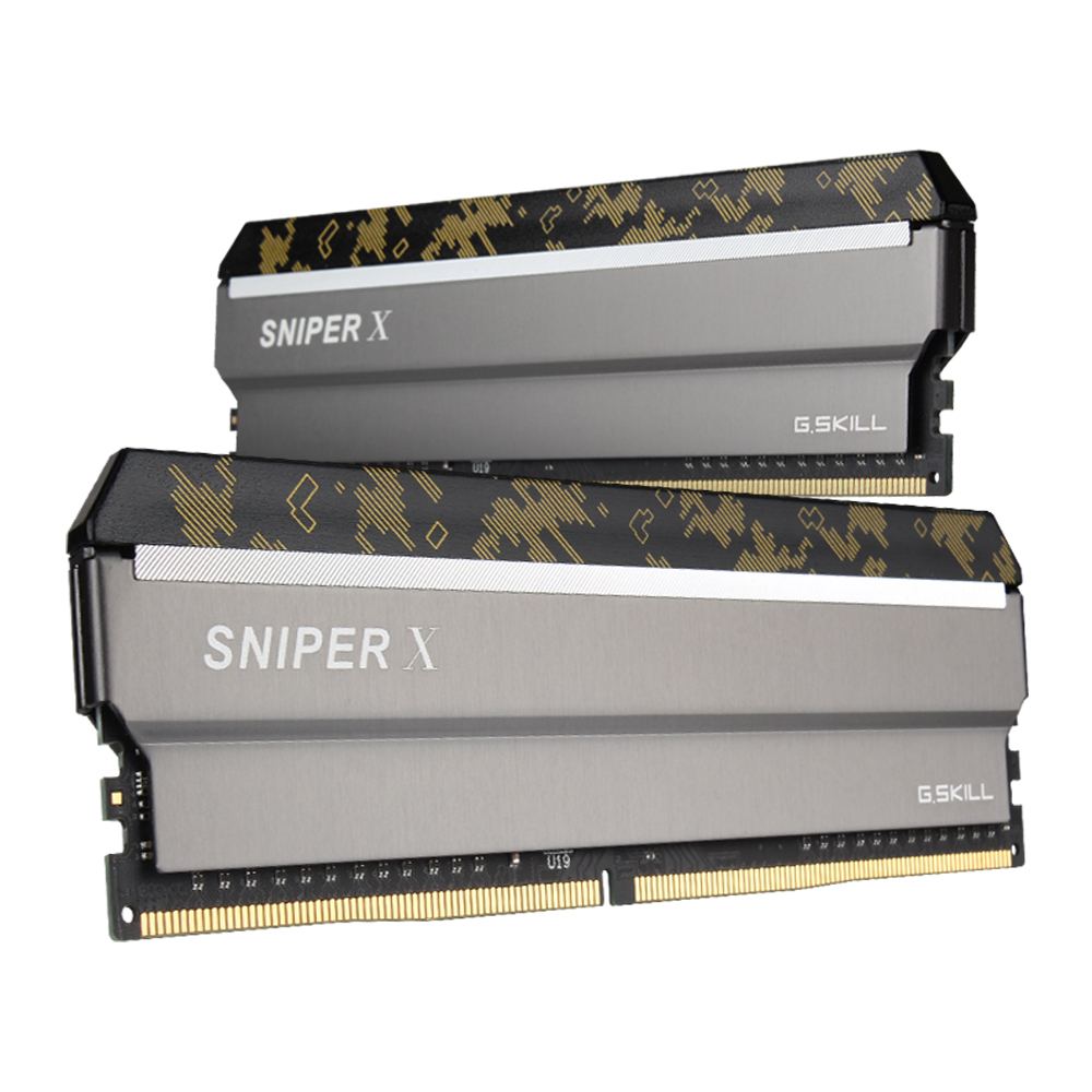 G.SKILL DDR4 16G PC4-19200 CL17 SNIPER X SXK (8Gx2)