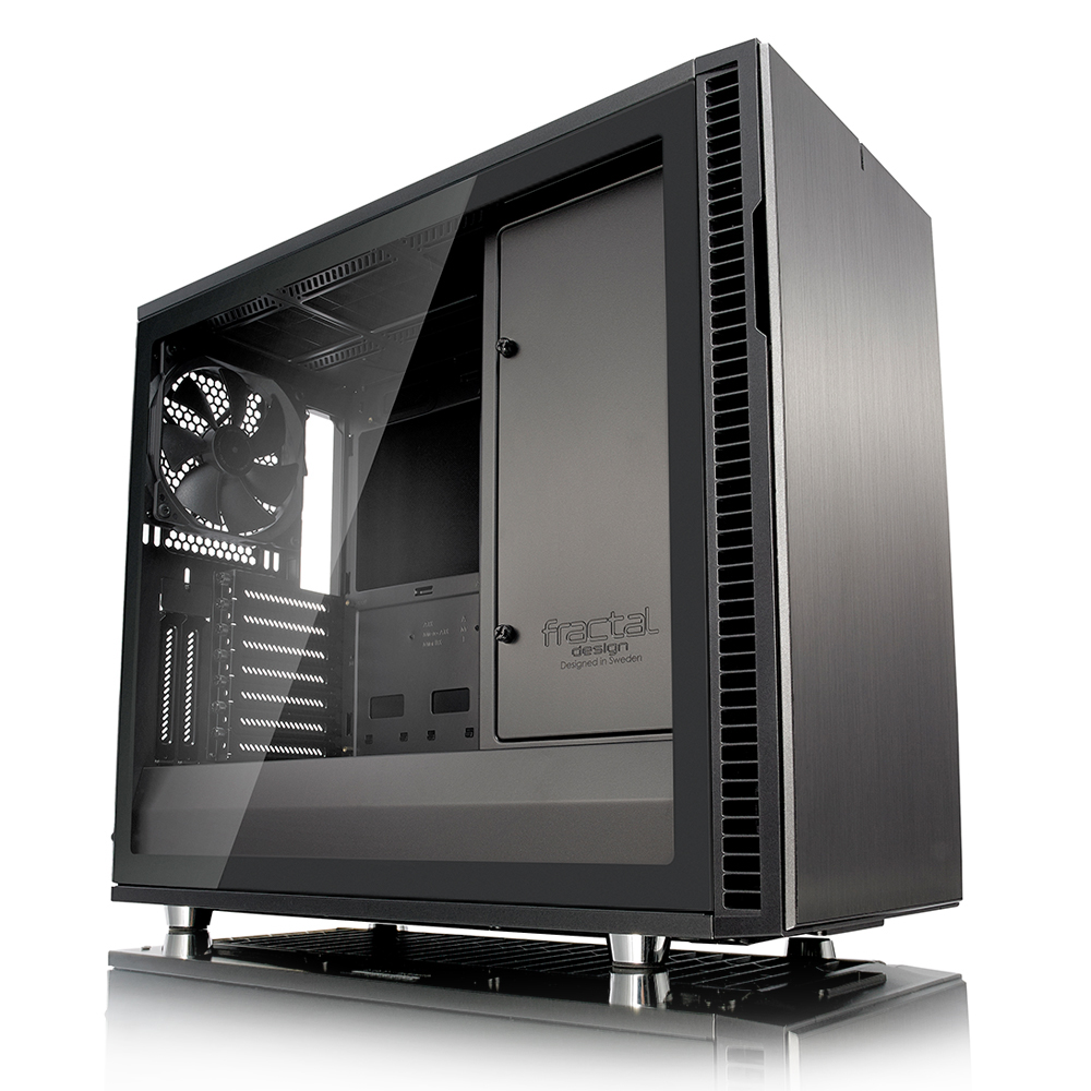 Fractal Design Define R6 Gunmetal 강화유리