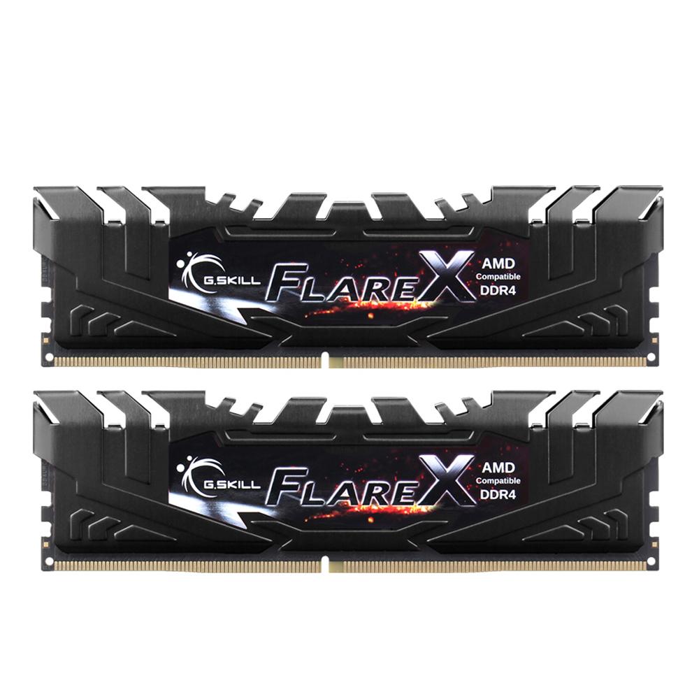 G.SKILL DDR4 16G PC4-23400 CL14 FLARE X 블랙 DUAL (8Gx2)