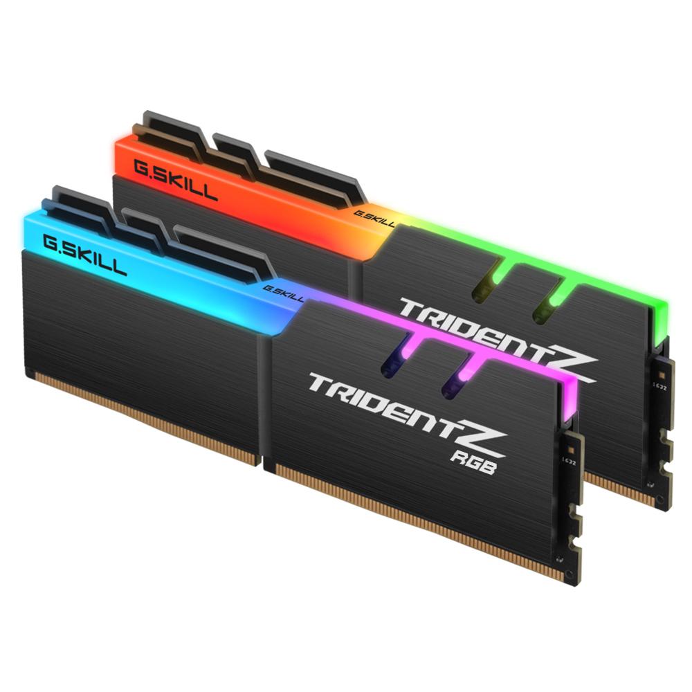 G.SKILL DDR4 16G PC4-19200 CL15 TRIDENT Z RGB (8Gx2)