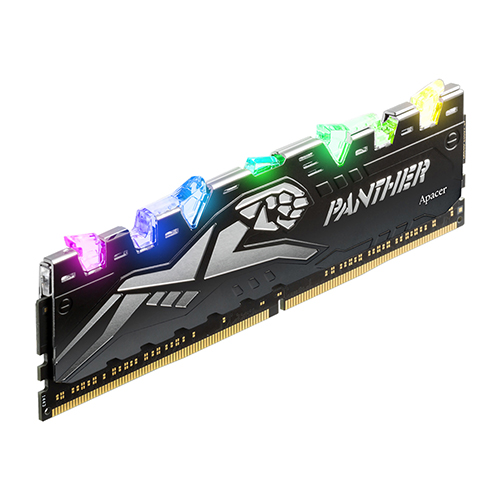 APACER DDR4 16G PC4-21300 CL16 PANTHER RAGE RGB 블랙