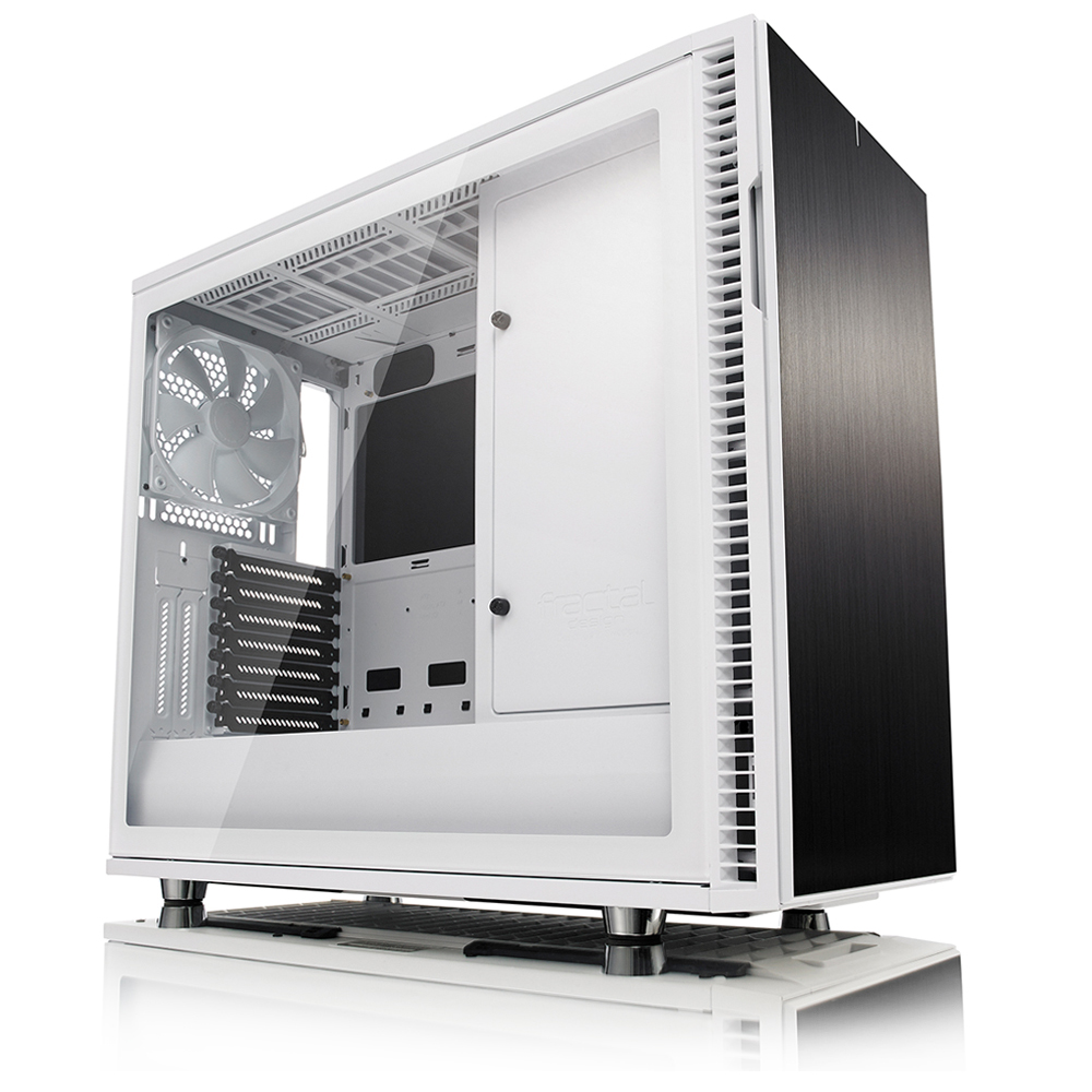 Fractal Design Define R6C White 강화유리