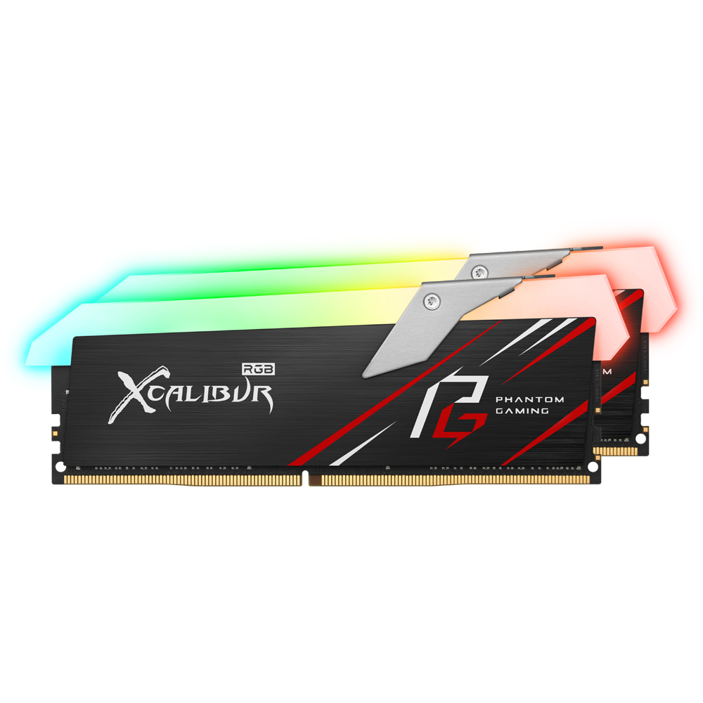 TeamGroup T-Force DDR4 16G PC4-32000 CL18 XCALIBUR PHANTOM G…