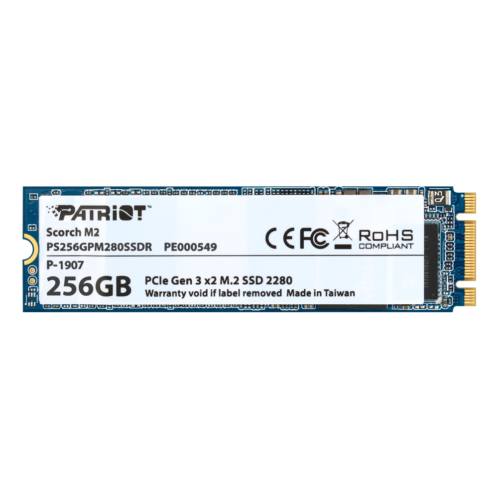 PATRIOT SCORCH M.2 2280 256GB