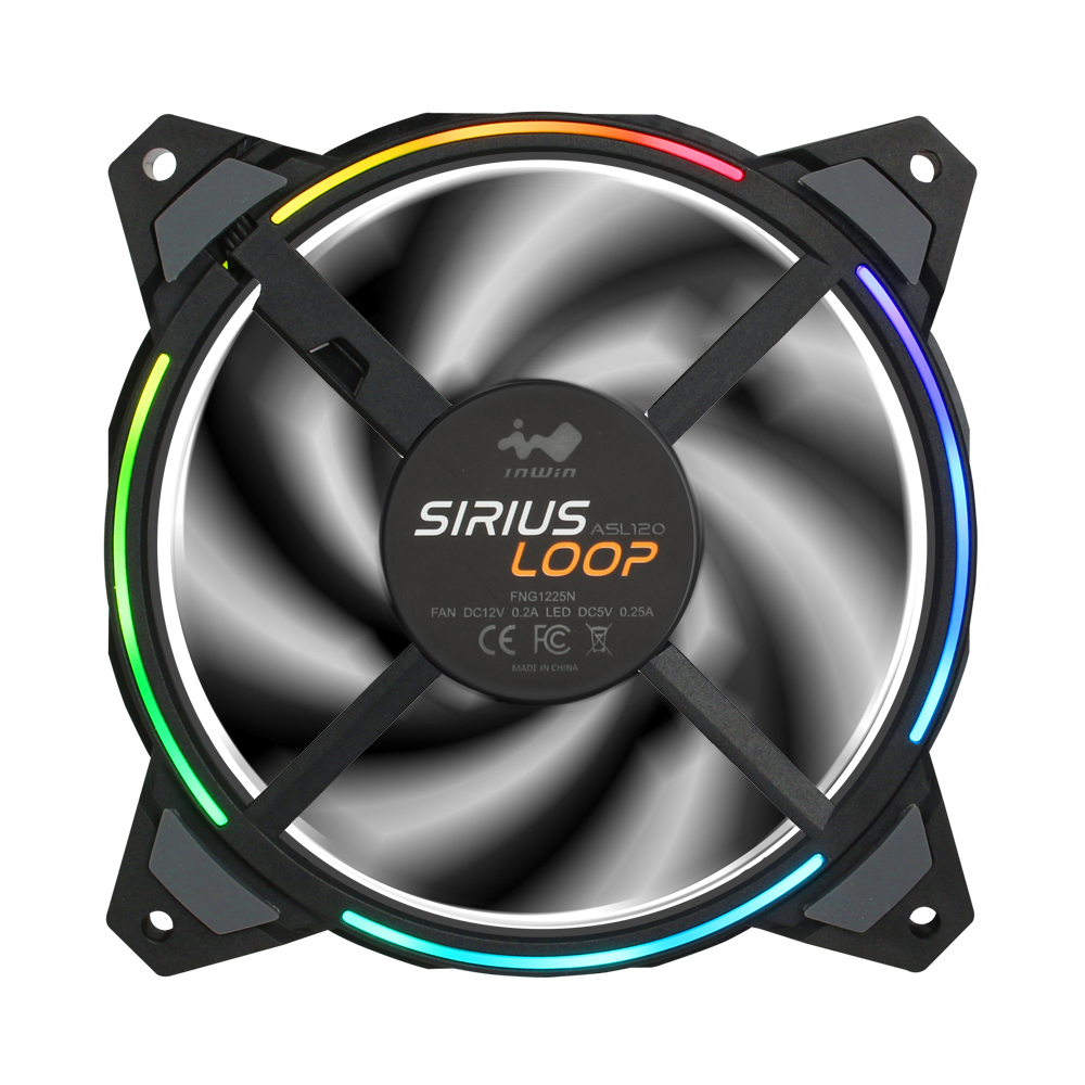 IN WIN SIRIUS LOOP RGB FAN 120