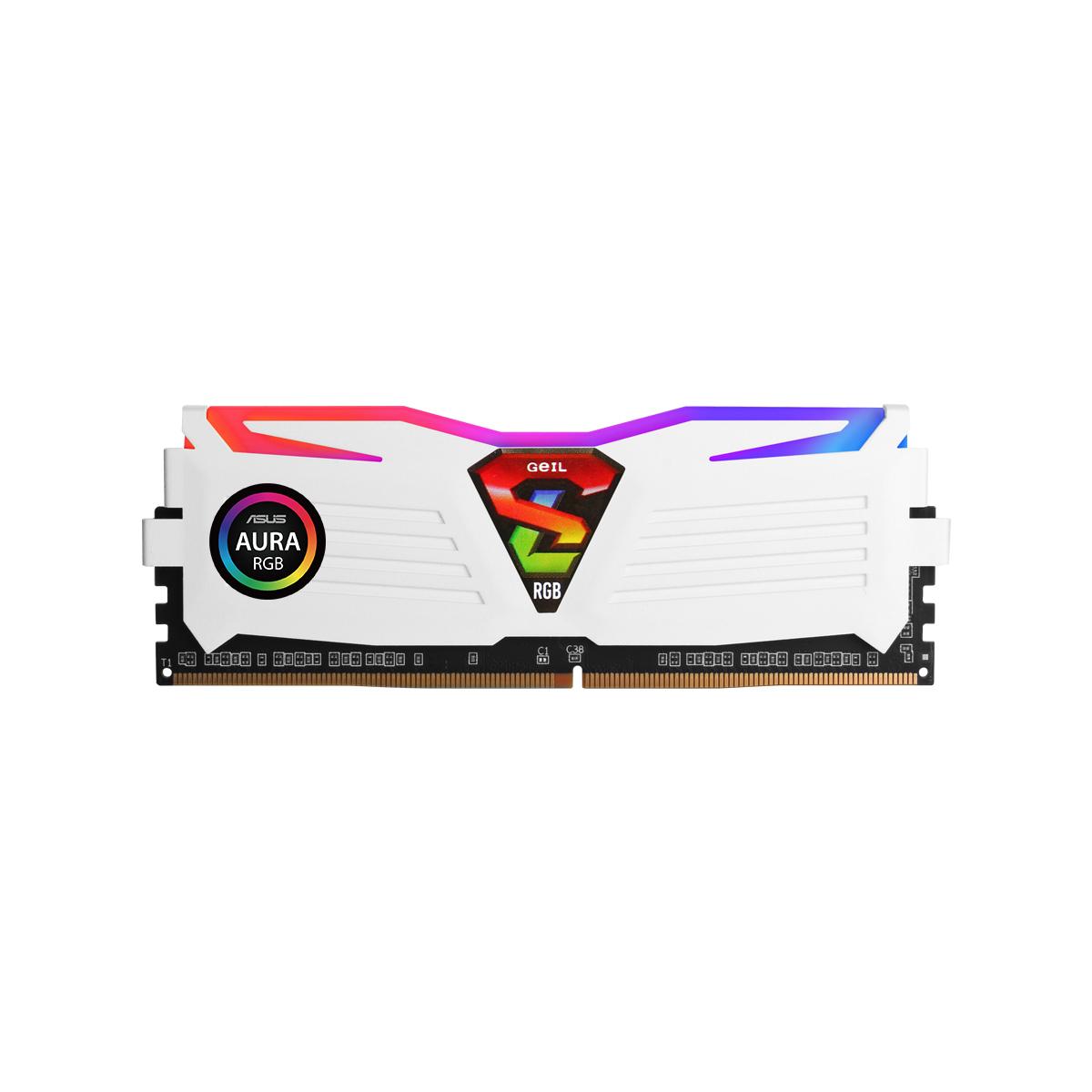 GeIL DDR4 16G PC4-28800 CL18 SUPER LUCE RGB Sync 화이트 (8Gx2)
