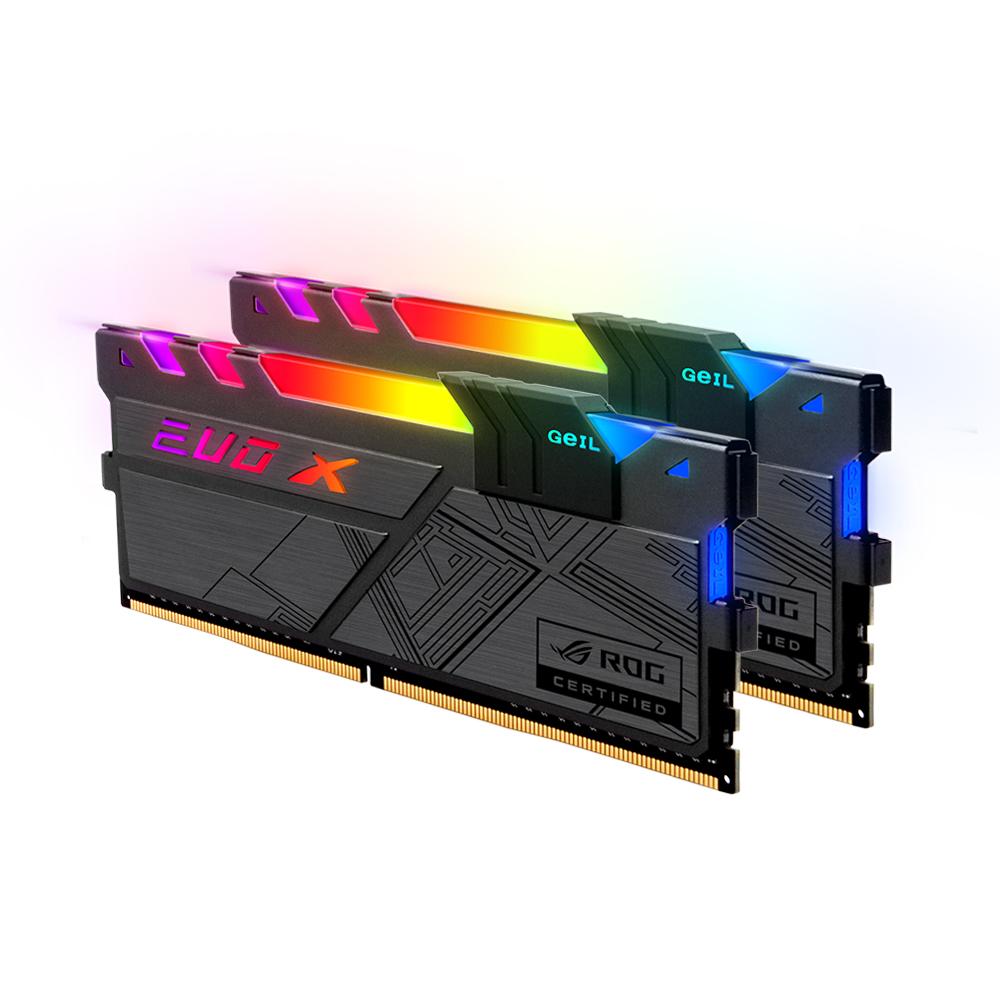 GeIL DDR4 16G PC4-25600 CL16 EVO-X II ROG RGB (8Gx2)
