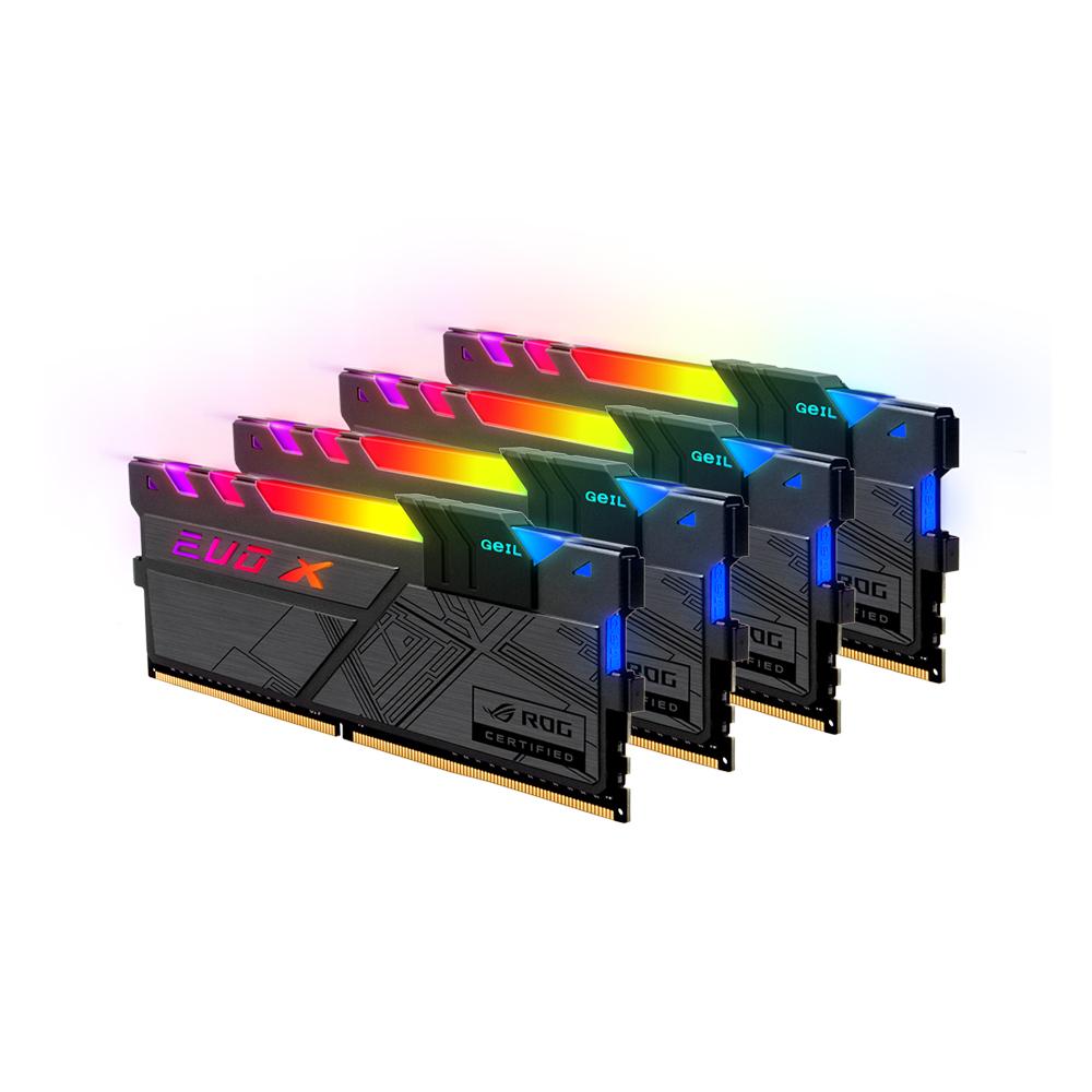 GeIL DDR4 32G PC4-25600 CL16 EVO-X II ROG RGB (8Gx4)
