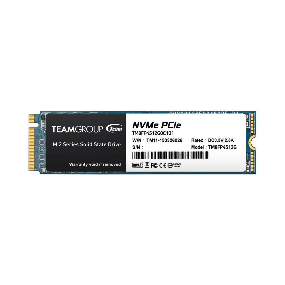 TeamGroup MP34 M.2 SSD 512GB