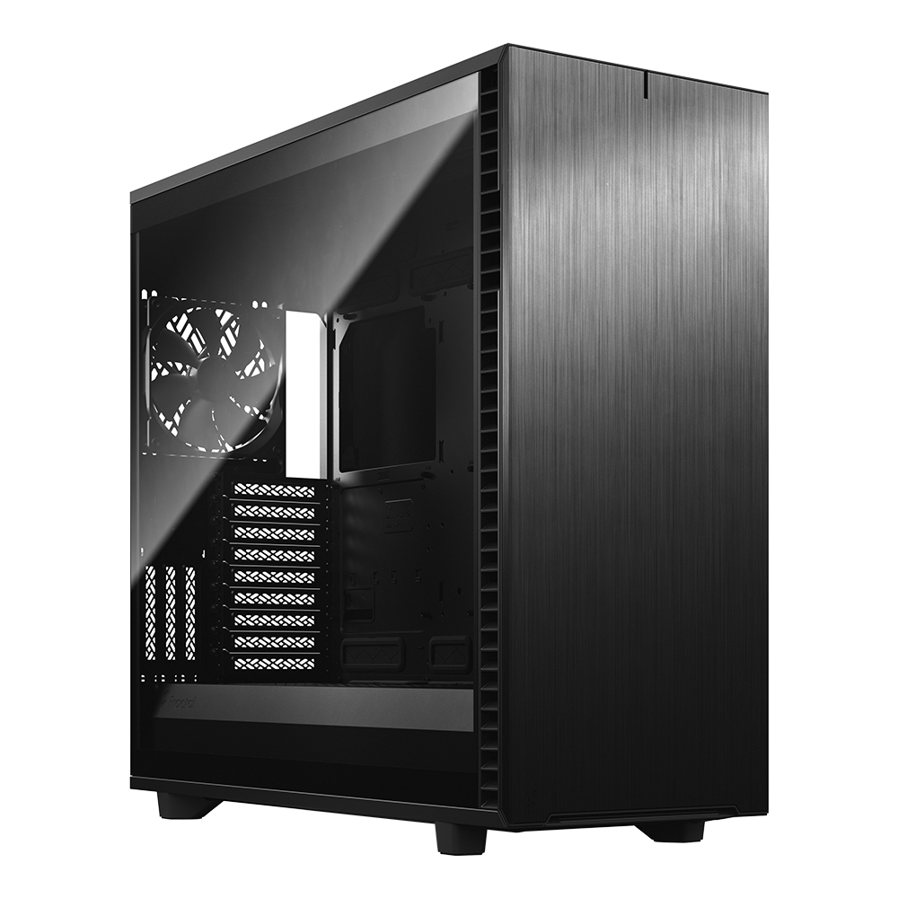Fractal Design Define 7 XL Black Light Tint 강화유리